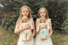 13 Creepy Pictures of Icelands Identical Twins