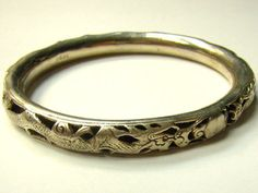 Rare Chinese Sterling Filigree Repousse Double by AsianPacificCo