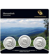 2014 America the Beautiful Quarters Three-Coin Set™ – Shenandoah National Park