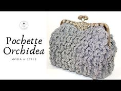 TUTORIAL: Pochette Orchidea/clic clac/cerimonia**lafatatuttofare** - YouTube Crochet Bag Tutorials, Crochet Videos, Tutorial Pochette, Photo Pattern, Embroidery Bags, Crochet Purses, Purses And Bags, Coin Purse, Beaded Bracelets