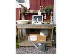 Skrållungar och Skärgårdsliv: Planteringsbord