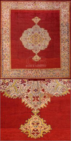 ANTIQUE USHAK RUGcm 380 x 340ft 12'5 x 11'2 Cod:: 141111658789Provenance: TURKEYAge: ANTIQUEKnots/dmq: 1600 Rug knotted in wool with weft and warp in cotton inspired to the ancient Persian and Caucasians rugs pattern. Very strong rug proper to corridors with a lot of pass. Up to thirty years ago they were produced in big quantities, now it's very hard to find them. Sometimes some exemplary has weft and warp in wool.