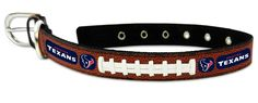 ~Houston Texans Dog Collar - Size Large~backorder