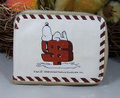 Snoopy Vinyl Wallet