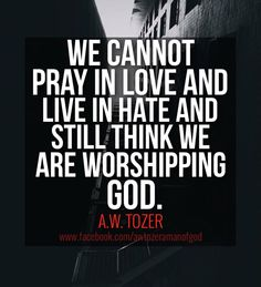 With many Christians and Muslims are like this, it is no wonder GOD is not listening.