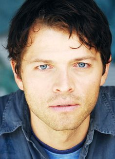 Misha Collins. His eyes get me every time.