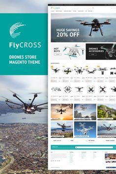 FlyCross - Drones Store Magento 2 Theme