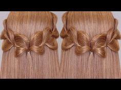 3 Strands Uneven Braid Hair Tutorial - YouTube