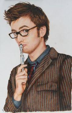 David Tennant-Dr. Who...what else needs to be said!  I love geeky cute guys!