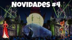 Novidades dos parques Orlando #4 - Novo show Magic Kingdom e mais!