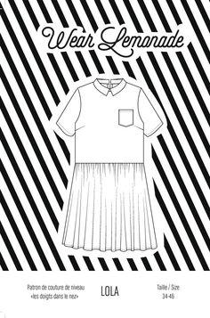 Patron de couture Lola - PDF http://www.wearlemonade.com/fr/patrons/71-patron-de-couture-lola-pdf.html