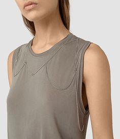 a313a486f92 ALLSAINTS  Women s T-Shirts  amp  Vests - Exclusive AllSaints Style  Allsaints Style