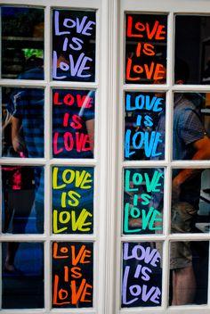Love is Love.     NYC Gay Pride Parade, June 2011