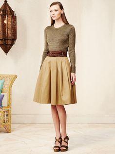 Pleated Michaela Skirt - Collection Apparel Maxi Skirts - RalphLauren.com