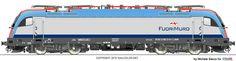 RAILCOLOR.NET - modern locomotive power #Siemens #Eurosprinter #locomotive #trains #railways #railcolor http://www.railcolor.net #inrail #fuorimuro