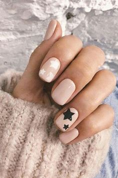 Star Nail Designs Pictures white and black star nails Star Nail Designs. Here is Star Nail Designs Pictures for you. Star Nail Designs white and black star nails. Star Nail Designs, Latest Nail Designs, Star Nails, Star Nail Art, Manicure E Pedicure, Manicure Ideas, Nail Ideas, French Pedicure, Nail Manicure