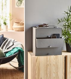 IKEA Deutschland   Die praktische und übersichtliche Verwahrung PALLRA für Papiere, USB-Sticks, Ladegeräte, Kosmetik, Schmuck usw.