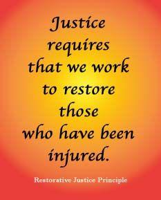 Restorative Justice Principle
