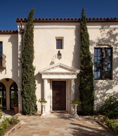 Mediterranean Estate - mediterranean - entry - santa barbara - Studio 7 Architecture & Allied Arts