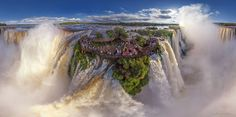 Stunning Aerial Photos Show Stunning Tourist Spots From Above
