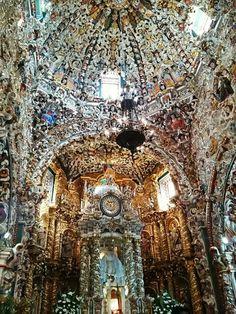 #Tonantzintla #Puebla #Mexico tonan (diosa local ) tzin (sufijo de nobleza) tla diminutivo la señora madresita