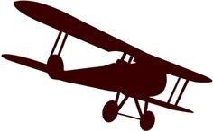 silhouette cameo design: View Design: airplane