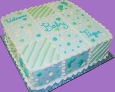 Baby Shower Sheet Cakes | Baby Shower Cakes | Sugar Showcase