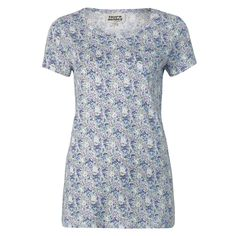Laura Ashley Spring Floral Archive Print Cotton Tee