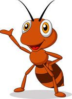 Ant Illustrations and Stock Art. Ant illustration and vector EPS clipart graphics available to search from thousands of royalty free stock clip art designers. Cartoon Cow, Cartoon Images, Cartoon Drawings, Cute Cartoon, Happy Animals, Cute Animals, Show Of Hands, Disney Cartoon Characters, Animal Coloring Pages