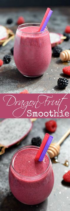 Change up your morning routine with a Dragon Fruit Smoothie loaded with berry…