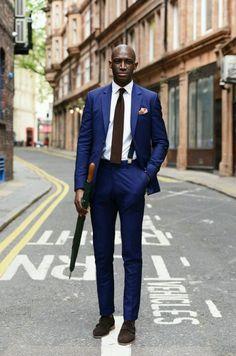 Blue #suit
