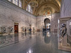 Great Hall | The Detroit Institute of Arts (DIA) | One of the top art collections in the US | 5200 Woodward Ave, Detroit |