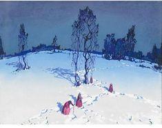 Seeking Beauty - Stepan Fedorovich Kolesnikov ( 1879-1955)