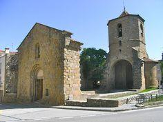 Girona  Església de Sant Pol a Sant Joan de les Abadeses Catalunya