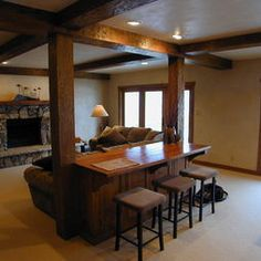 Traditional Basement Design, Pictures, Remodel, Decor and Ideas - page 5