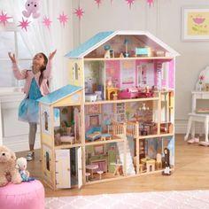 Kidkraft casa de muñecas mansion majestuosa 65252 Vista principal