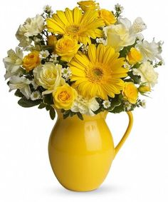 2002b44fff872b This bouquet is just bright for any occasion! A bright and sunny medley of  flowers