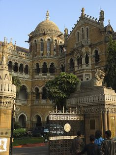 Victoria Station, Mumbai which used to be called Bombay, features in all three of my British Raj novels.