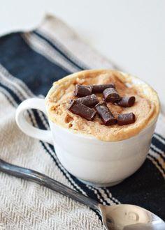 Easy Vegan Peanut Butter Mug Cake - Kitchen Treaty Vegan Cake vegan cake mug Peanut Butter Mug Cakes, Vegan Peanut Butter, Almond Butter, Coconut Flour, Vegan Mug Cakes, Vegan Cake, Food Cakes, Cake Light, Bolo Vegan