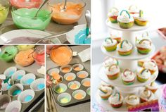 Rainbow Cupcakes - Project Nursery