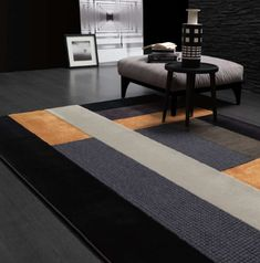 🇮🇹Made in Italy. Order NOW: 📞+971 58 808 45 25 superbiadomus@gmail.com Delivery worldwide✈️🌍 Wall Carpet, Rug Design, Rugs On Carpet, Patchwork Rugs, Custom Design, Modern, Home Decor, Wall Patterns, Contemporary Rug
