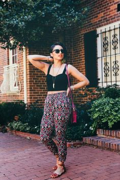 Crop It Like It's Hot // Summer outfit