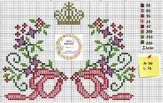 Cross Stitch Borders, Cross Stitch Alphabet, Cross Stitch Designs, Cross Stitch Patterns, Plastic Canvas Crafts, Knitting Charts, Betty Boop, 50th Anniversary, Pattern Fashion