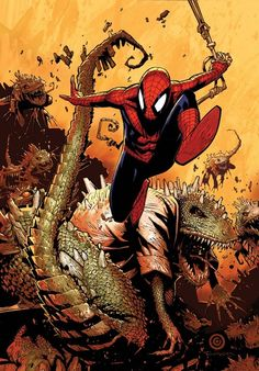 Spider-Man by Chris Bachalo