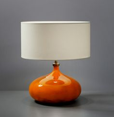 Jaques-and-Dani-Ruelland-lampbase-493x504...Love The Colour And Shape Of This Piece...
