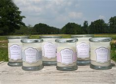 """Brand new candle collection from Lower Lodge Candles launching August 2013. In stores next week! """"Beautiful candles created using mood enhancing scents to  promote happiness & well being."""""""