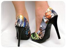 Decoupage shoes may the force be with you!