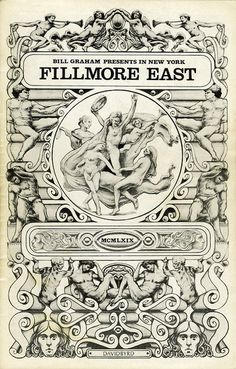 Country Joe & the Fish ..... Fleetwood Mac ..... Kusama's Self-Obliteration ...  & ....  Joshua Light Show .... December 6 & 7, 1968 - Fillmore East (New York, NY) ....    Art .... DAVID BYRD