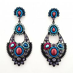 Chandelier Ohrringe NICOLE von TRENDOMLY JOLIEBijouterie Earrings Jewelry Trend 2014
