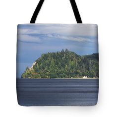 Washington Coast Tote Bag by Tom Janca.  The tote bag is machine washable, available in three different sizes, and includes a black strap for easy carrying on your shoulder.  All totes are available for worldwide shipping and include a money-back guarantee.